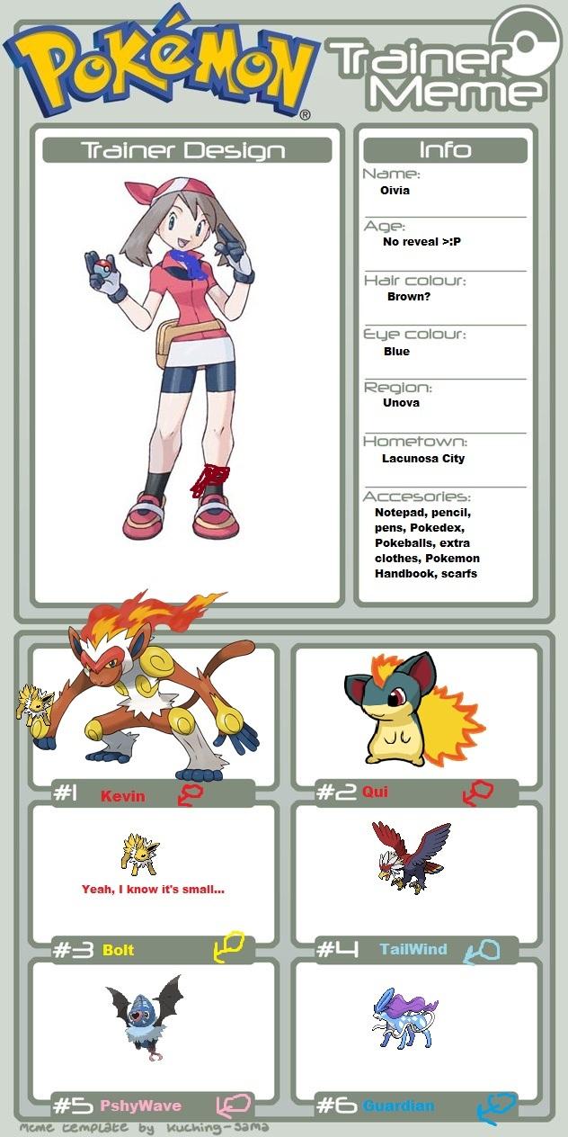 Pokemon Trainer Meme By Quilava556 On Deviantart