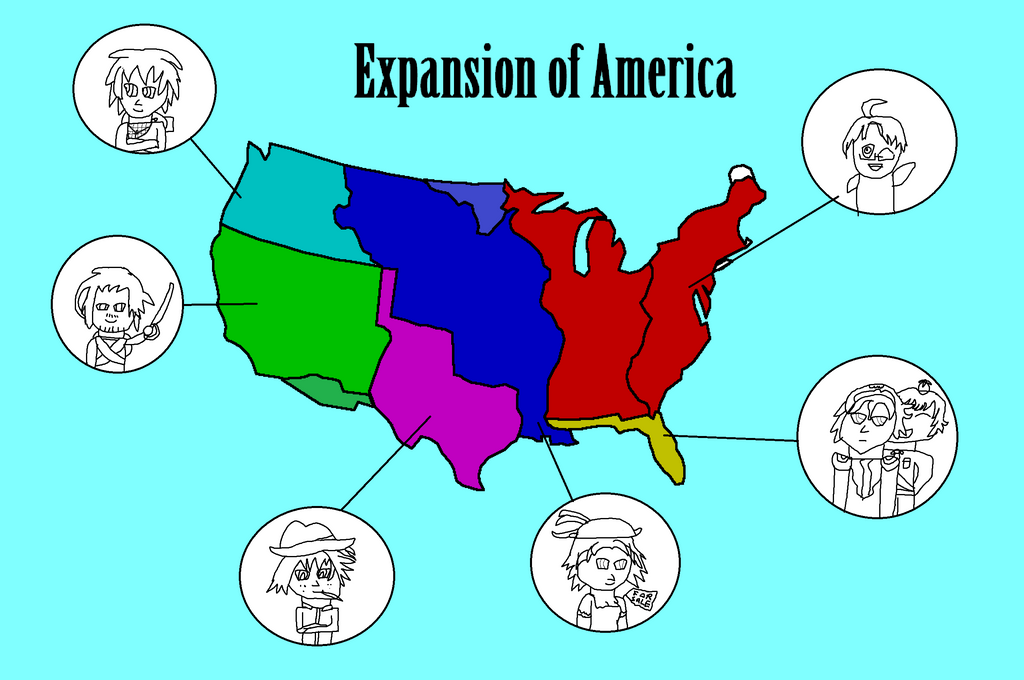Hetalia usa expansion map by GrayComputer on DeviantArt
