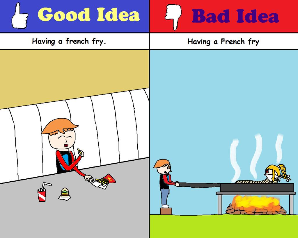 Good Idea Bad Idea Comic 3 By Graycomputer On Deviantart
