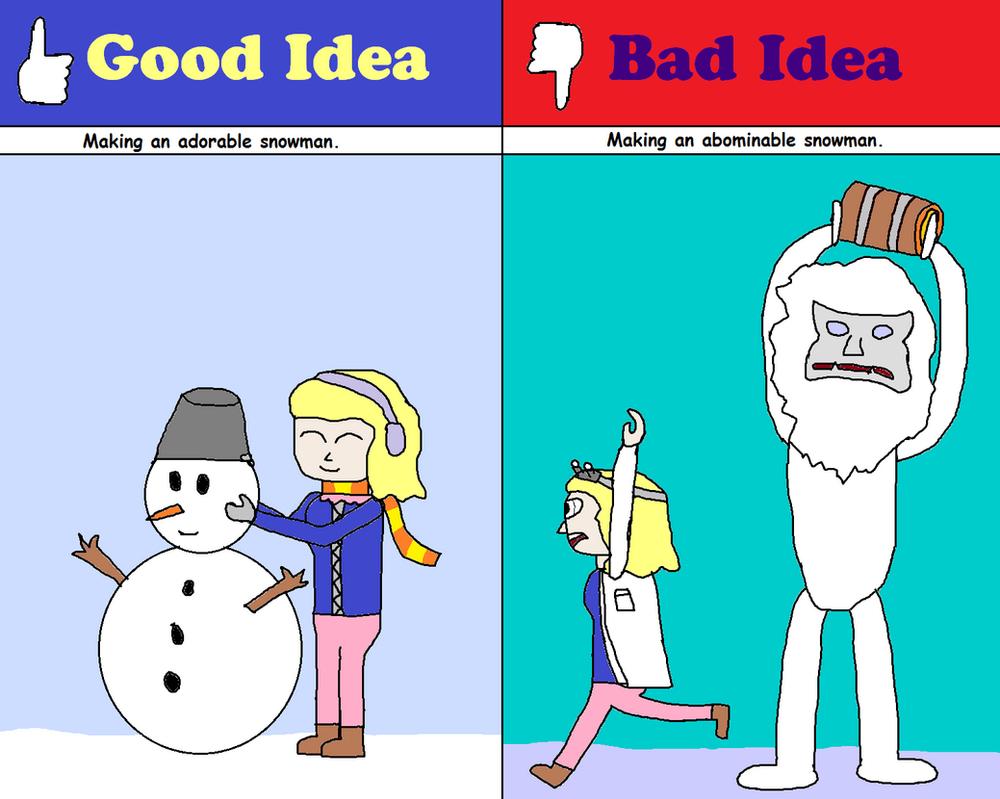 Good Idea Bad Idea Comic 6 By Graycomputer On Deviantart