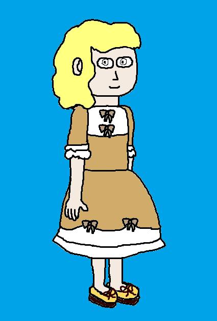 Nirita in a dress by GrayComputer