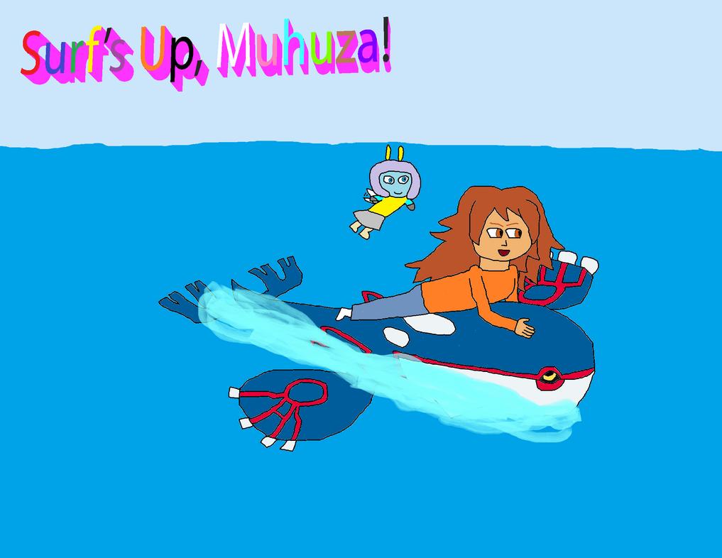 Surf's Up, Muhuza! by GrayComputer