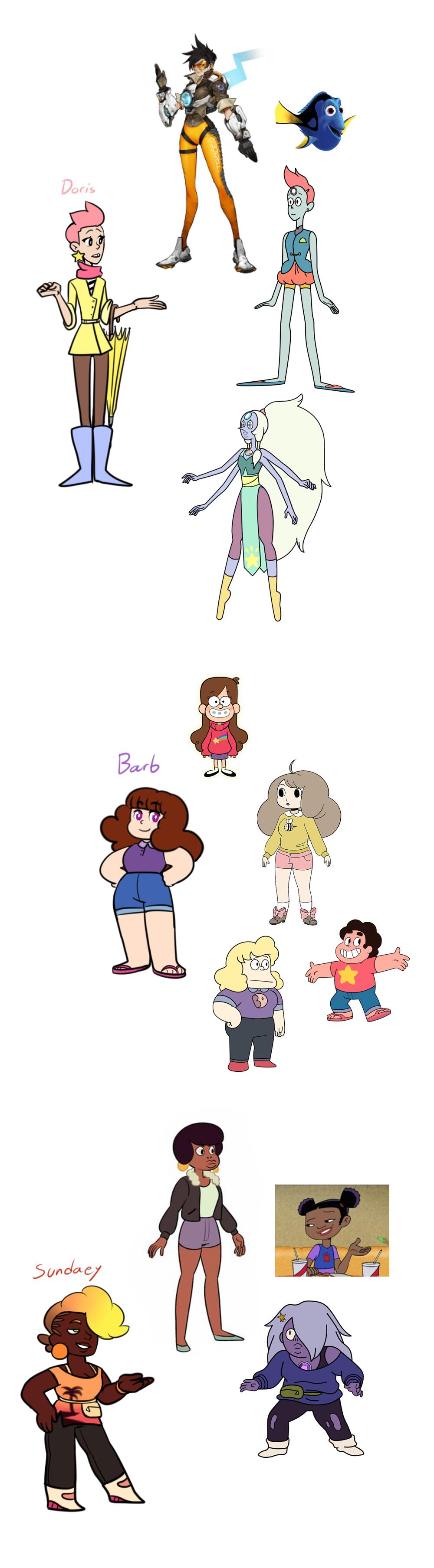 Cartoon Character Design Inspiration : Character design inspiration by kattinx on deviantart