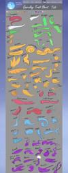 Gnarrling trait sheet Tails by Kattinx