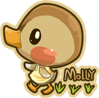 Molly the duck by Yuupewpew