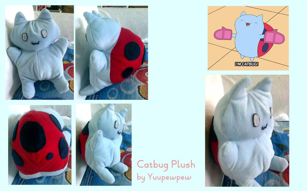 Catbug Plushie by Yuupewpew