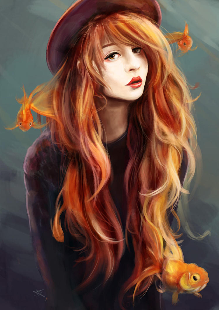 Goldfish by Yuupewpew