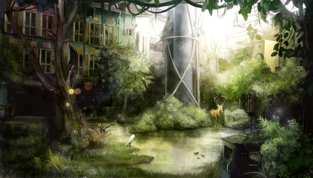 Peaceful Apocalypse by Yuupewpew