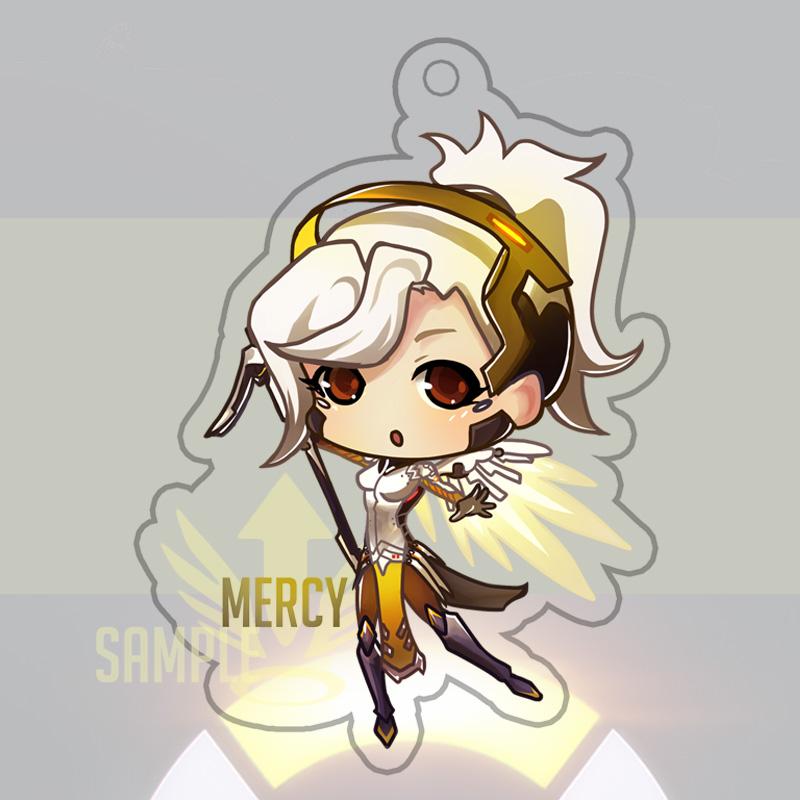 Overwatch Mercy Keychain by Yuupewpew