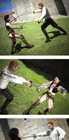 Mercutio vs Tybalt lighting and material test