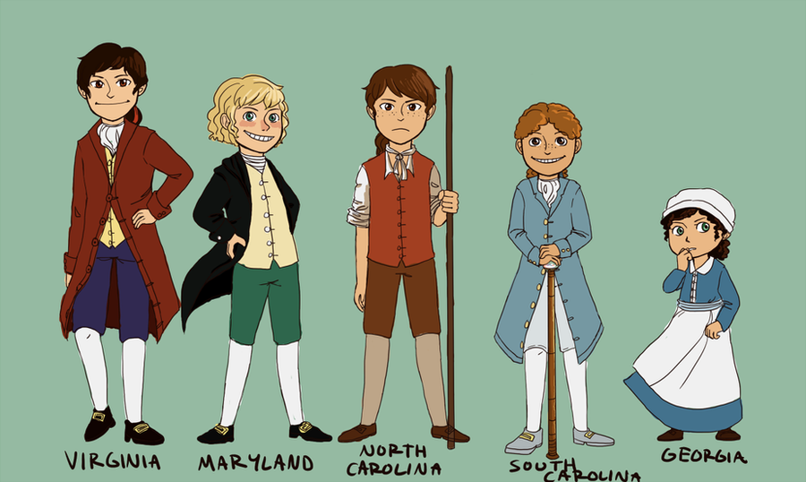 APH: 13 Colonies-South by gracyn43