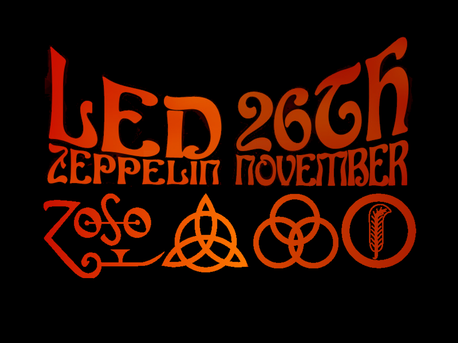 Led Zeppelin Reunion Wallpaper By Dread Librarian On Deviantart