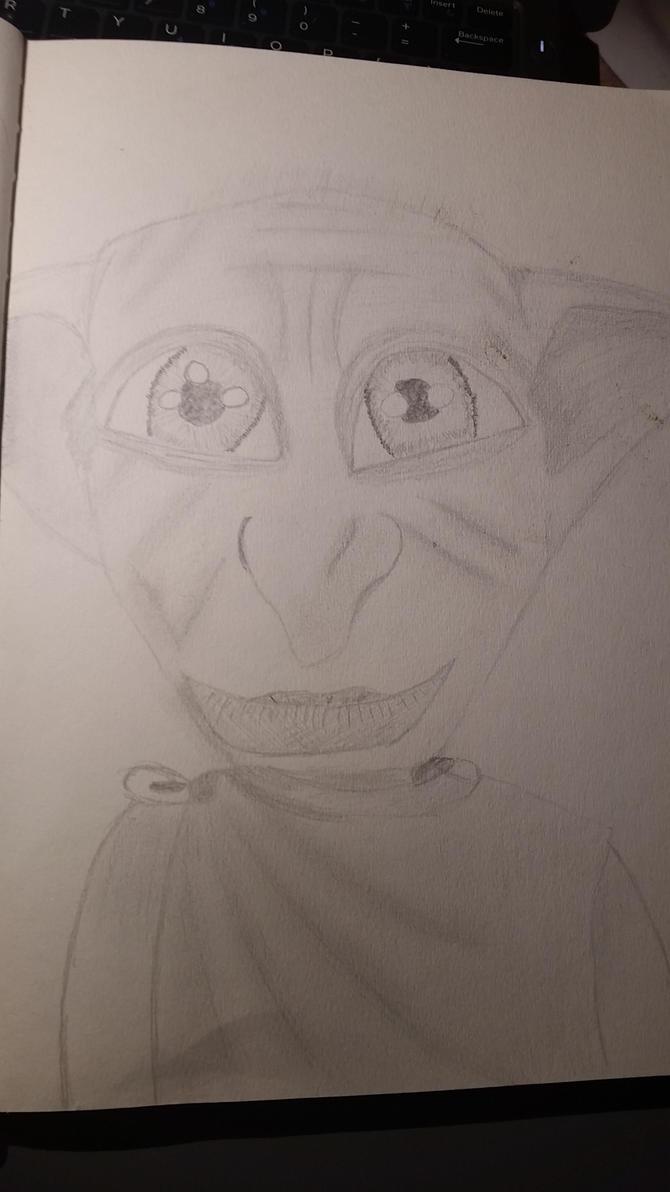 Dobby the elf by Xjesash