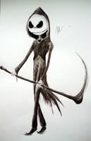 Jack Skellington Inkwash by RichLim89