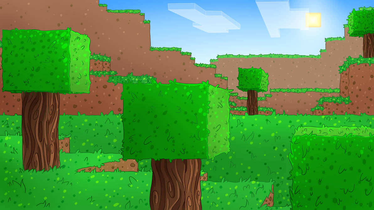 Minecraft Background by DoritoDemon2 ...