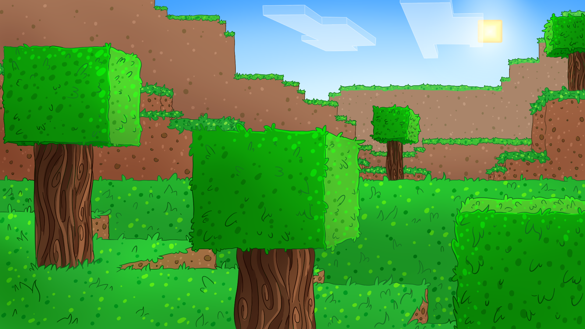 Top Wallpaper Minecraft Art - 93f2165840b80ca73053a5c14eb2b753-d9p3lde  Gallery_30685.png