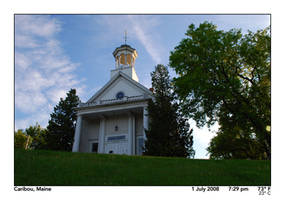 First Church in Caribou, 2 by PhotographyByIsh