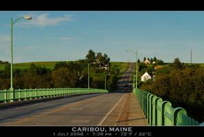 ME 161, Aroostook River Bridge by PhotographyByIsh