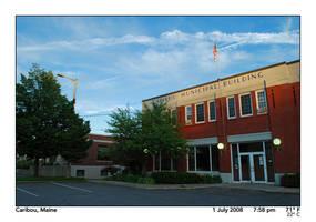 Caribou Municipal Building by PhotographyByIsh