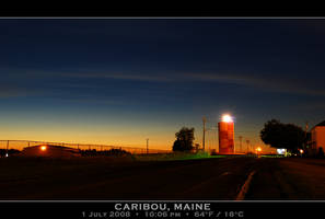 Caribou Airport, 10pm twilight by PhotographyByIsh