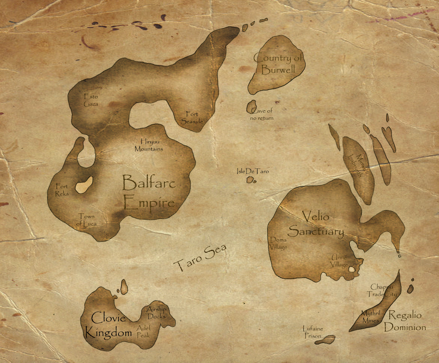 World Map by SteadfastBlade