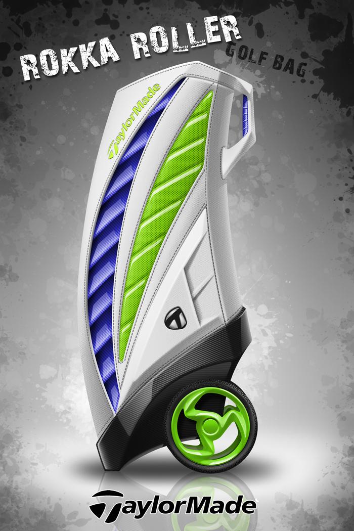ROKKA ROLLER Golf Bag by WingerDesign
