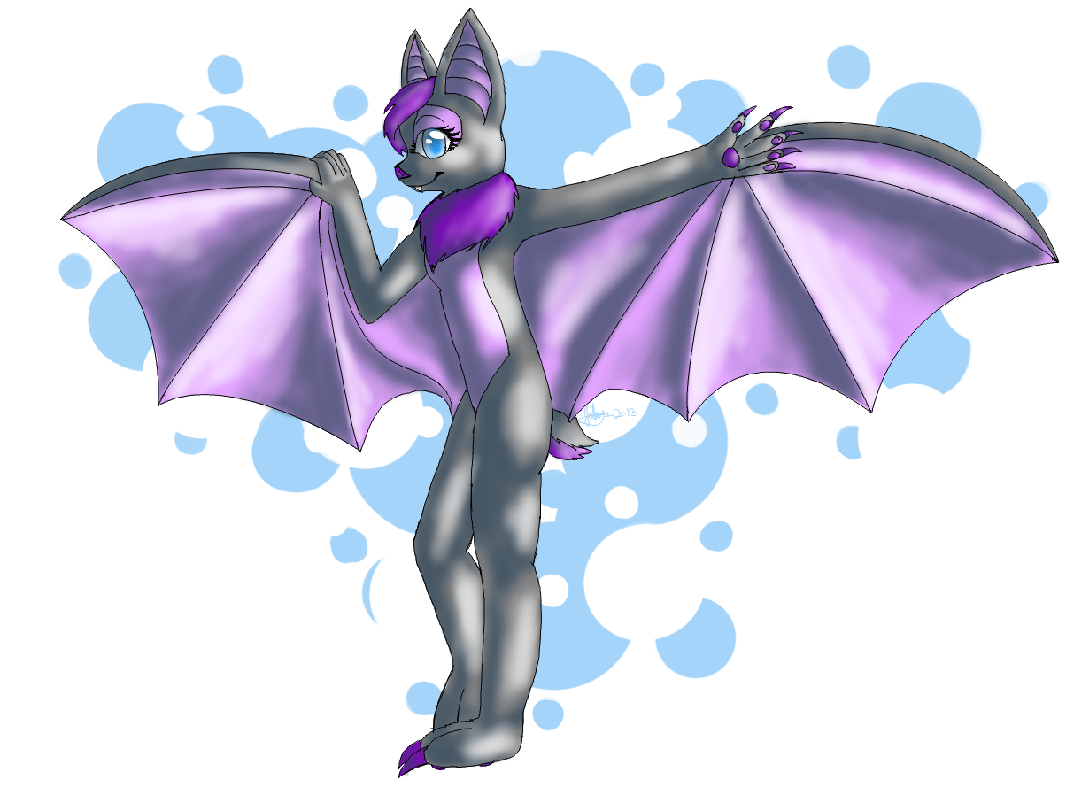 My Spirit Animal Berry The Bat By Rebeccathejolteon On