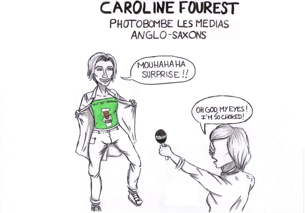 Caroline Fourest by mottemo