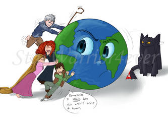 Us Against the World by Starwarrior4ever