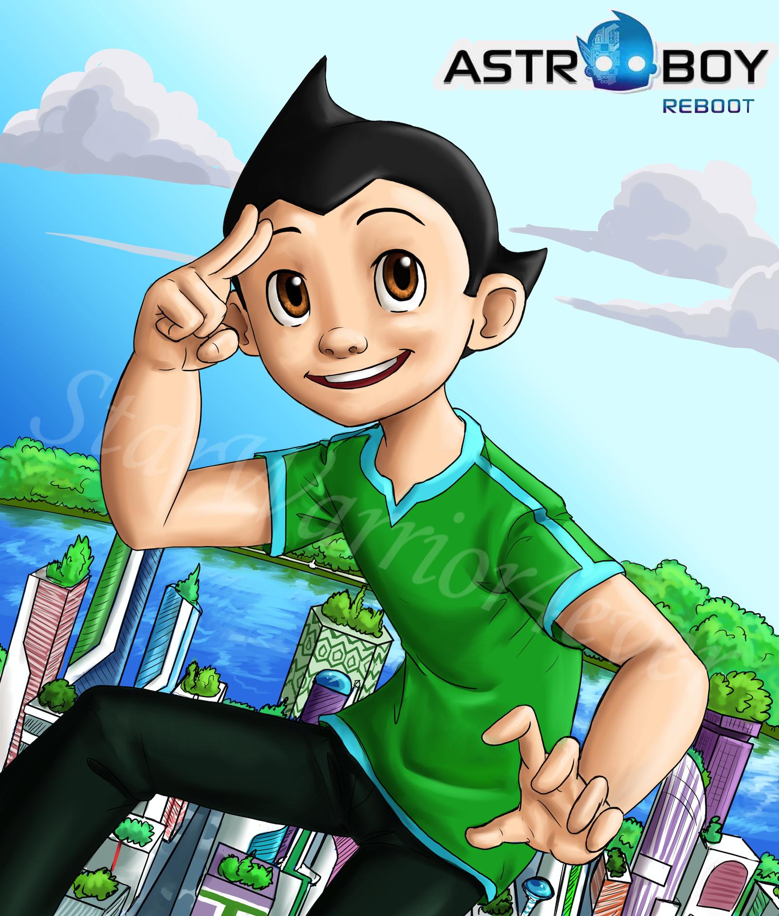 Astro Boy Reboot By Starwarrior4ever On DeviantArt