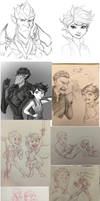 Strange Magic sketch dump