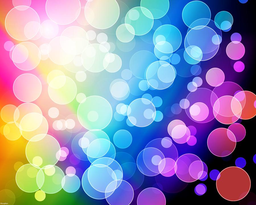 Colorful Bokeh [NonBlur] by RiceyRain