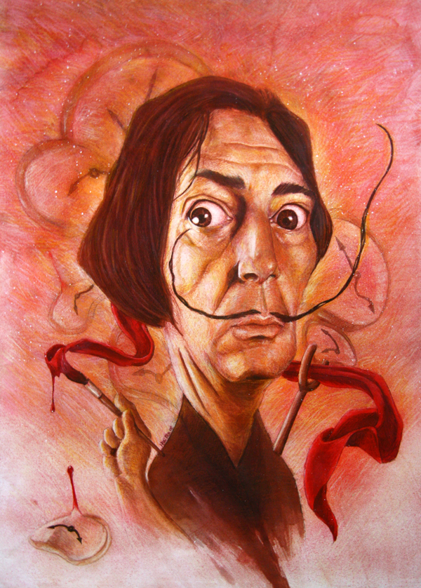 Salvador Dali by 3yen