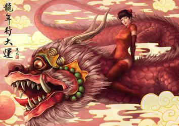 Year of Dragon by 3yen