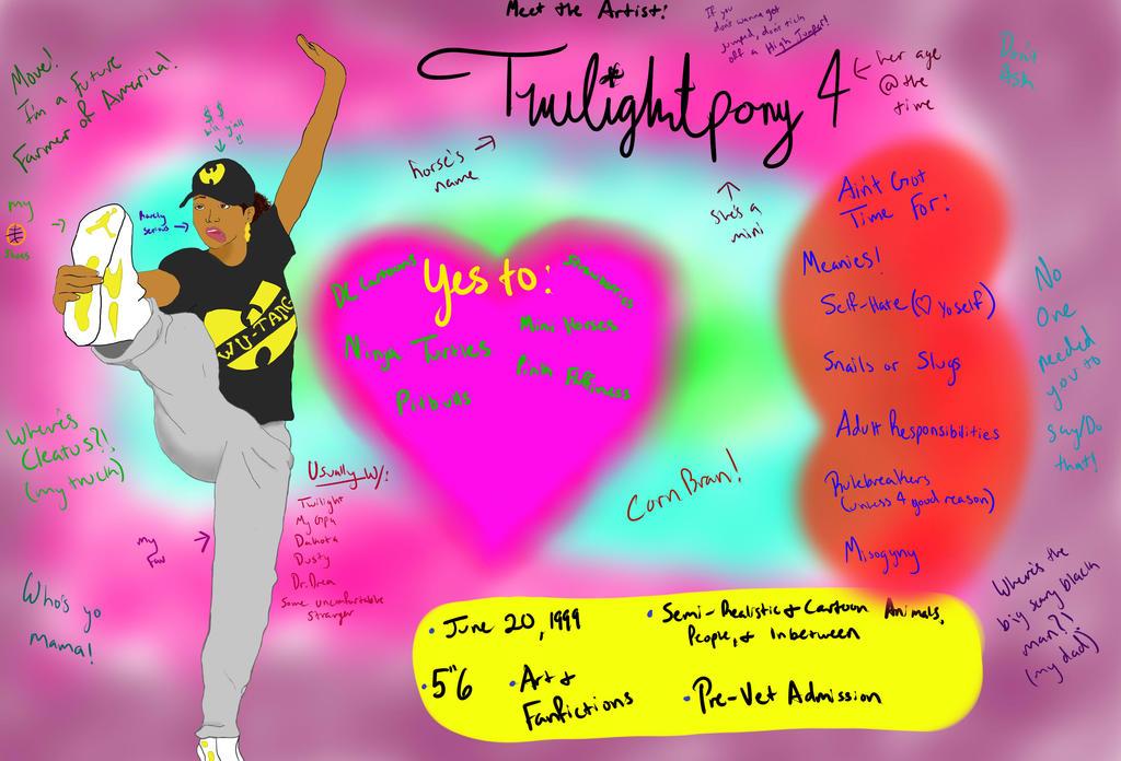 Meet The Artist by Twilightpony4