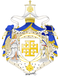 Greater Royal Coat of Arms of Jerusalem