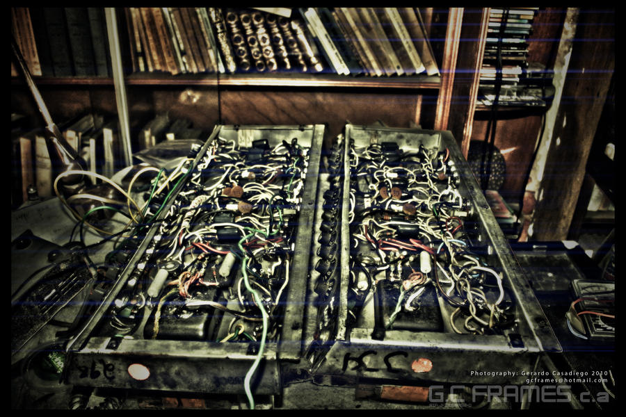 Electric Circuit HDR by Gersith on DeviantArt