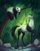 Pandas! by Kira-Bagirova