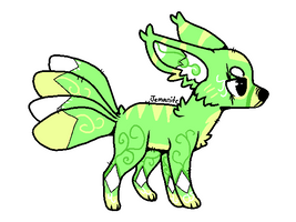 [ADOPTABLES] 4 Tailed Kitsune 3 Points [CLOSED]