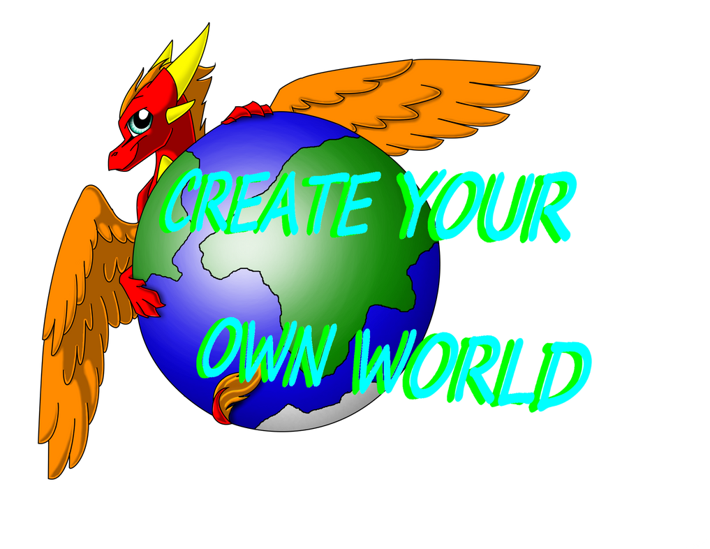 Create your own world logo read description by for Draw my own logo