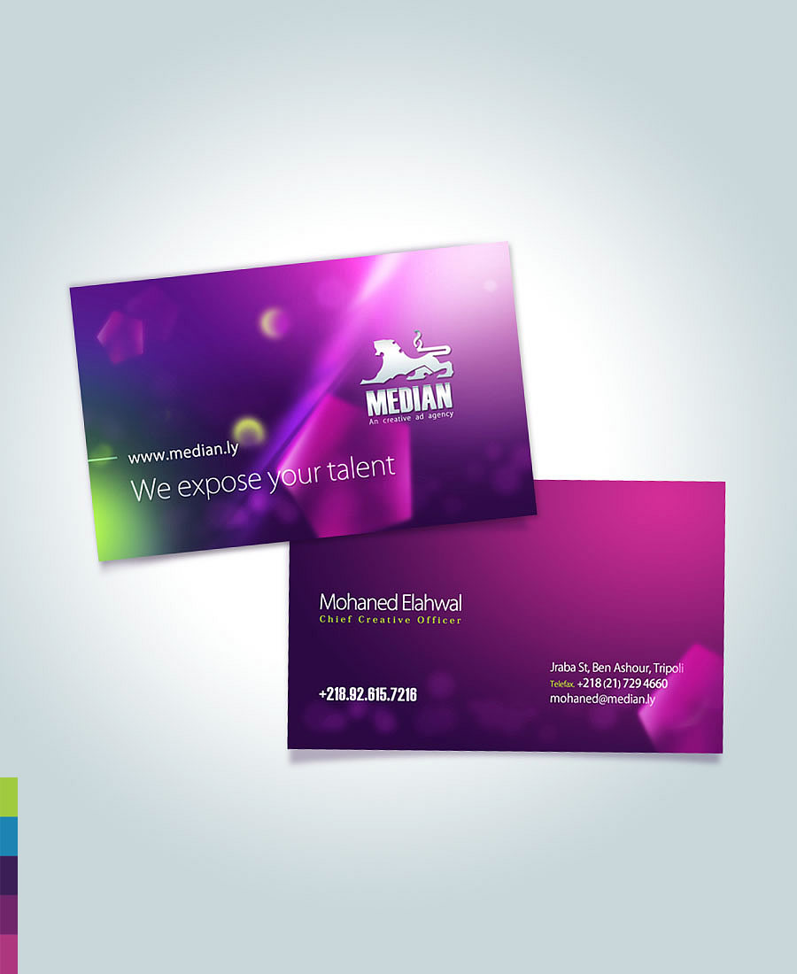 Median Business Card