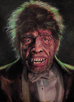 Frederic March as Mr Hyde by JohnFebonio
