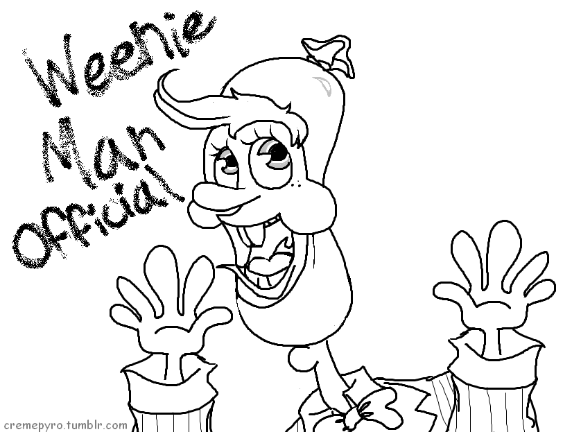 Weenie Man by CremeCoco