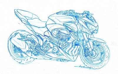 Kawasaki Z 888