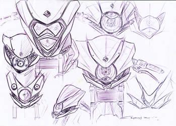 Re-design suzuki satria fu 150
