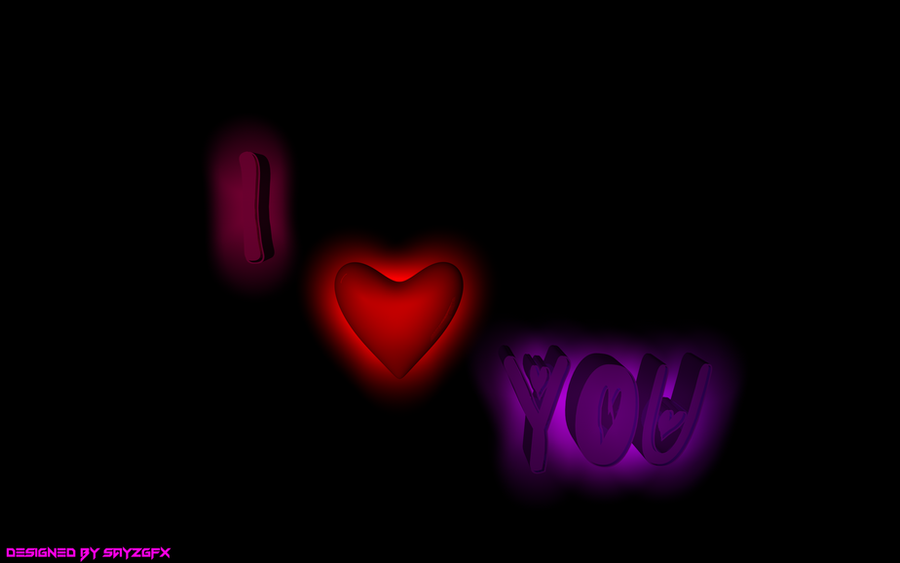 wallpaper 3d i love you - photo #5
