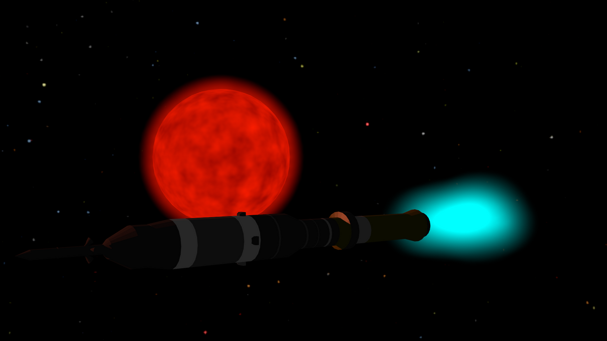 Proxima Centauri and the ionic rocket by ZourDementor