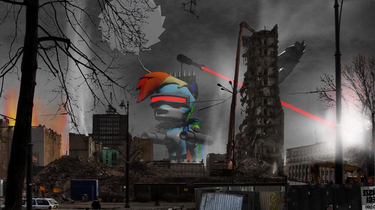 Rainbow Destroyer by ZourDementor