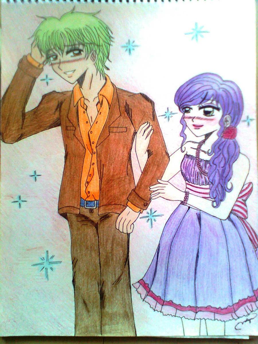KazukiXMiyabi Colored by kahochanlenkunlovers