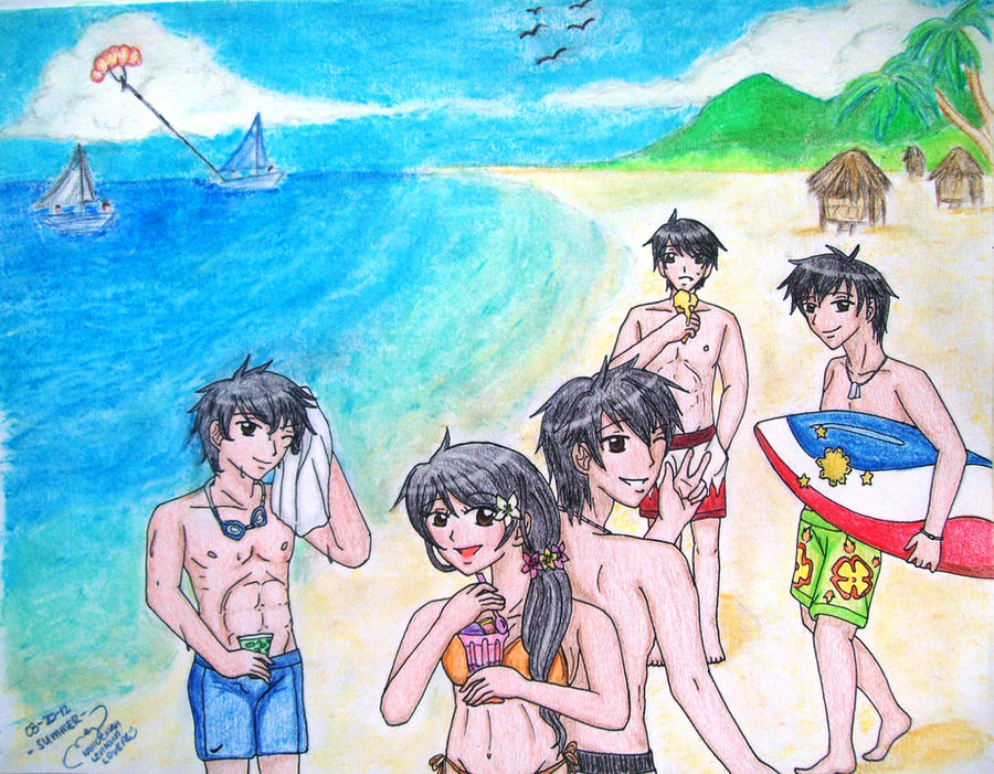 APH Philippine OC's: SUMMER! by kahochanlenkunlovers